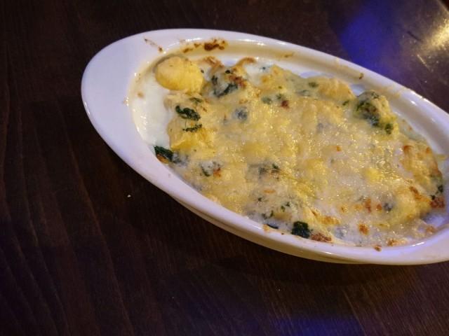 L'Authentic Plat du jour du 14.10: Gratin de Gnocchis aux épinards et fromage