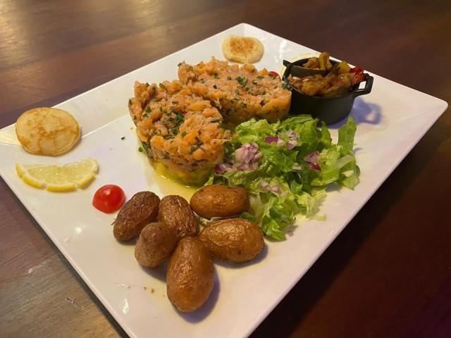 L'Authentic Tartare de saumon